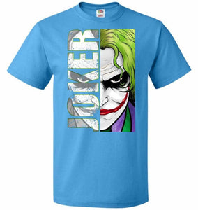 Joker Unisex Youth T-Shirt - Pacific Blue / Youth S - T-Shirt