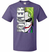 Load image into Gallery viewer, Joker Unisex Youth T-Shirt - Purple / Youth S - T-Shirt