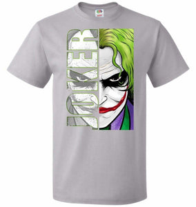 Joker Unisex Youth T-Shirt - Silver / Youth S - T-Shirt