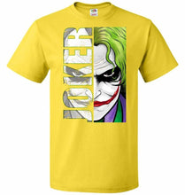 Load image into Gallery viewer, Joker Unisex Youth T-Shirt - Yellow / Youth S - T-Shirt