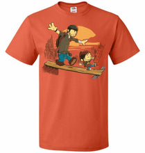 Load image into Gallery viewer, Just the 2 of Us Unisex T-Shirt - Burnt Orange / S - T-Shirt