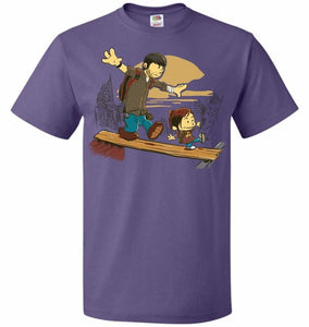 Just the 2 of Us Unisex T-Shirt - Purple / S - T-Shirt