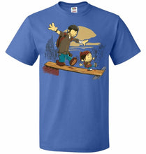 Load image into Gallery viewer, Just the 2 of Us Unisex T-Shirt - Royal / S - T-Shirt
