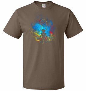 Kingdom Art Unisex T-Shirt - Chocolate / S - T-Shirt