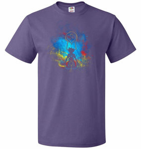 Kingdom Art Unisex T-Shirt - Purple / S - T-Shirt