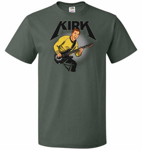 Kirk Unisex T-Shirt - Forest Green / S - T-Shirt