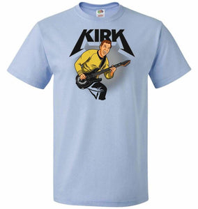 Kirk Unisex T-Shirt - Light Blue / S - T-Shirt