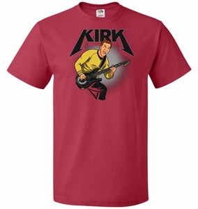 Kirk Unisex T-Shirt - True Red / S - T-Shirt