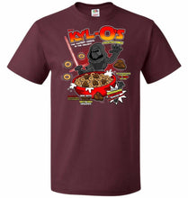 Load image into Gallery viewer, Kyl-Os Unisex T-Shirt - Maroon / S - T-Shirt