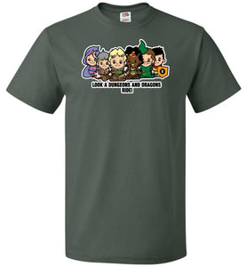 Lil Dungeons and Dragons Unisex T-Shirt - Forest Green / S - T-Shirt