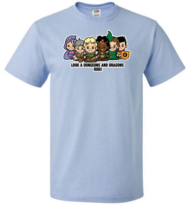 Lil Dungeons and Dragons Unisex T-Shirt - Light Blue / S - T-Shirt