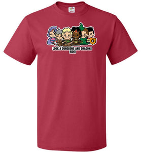 Lil Dungeons and Dragons Unisex T-Shirt - True Red / S - T-Shirt