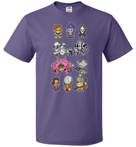 Lil Overwatch Unisex T-Shirt - Purple / S - T-Shirt