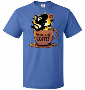 Luci Coffee Unisex T-Shirt - Royal / S - T-Shirt