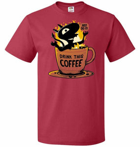 Luci Coffee Unisex T-Shirt - True Red / S - T-Shirt