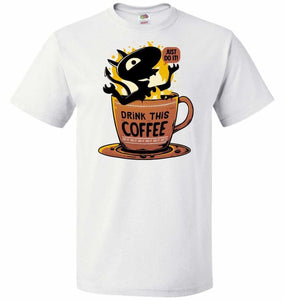 Luci Coffee Unisex T-Shirt - White / S - T-Shirt