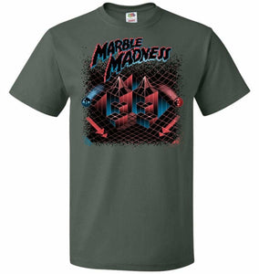 Madness Marbles Unisex T-Shirt - Forest Green / S - T-Shirt