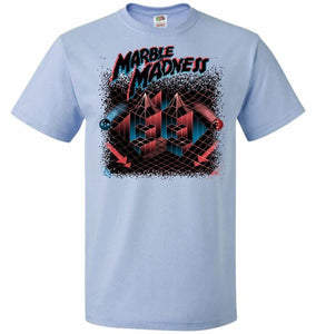 Madness Marbles Unisex T-Shirt - Light Blue / S - T-Shirt