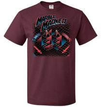 Load image into Gallery viewer, Madness Marbles Unisex T-Shirt - Maroon / S - T-Shirt