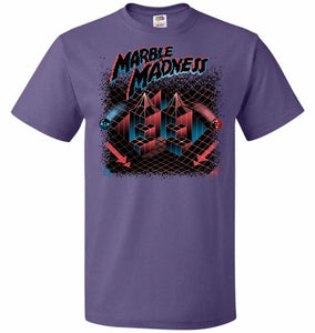 Madness Marbles Unisex T-Shirt - Purple / S - T-Shirt
