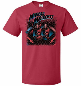 Madness Marbles Unisex T-Shirt - True Red / S - T-Shirt