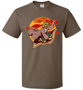 Magic Rug Ride Unisex T-Shirt - Chocolate / S - T-Shirt