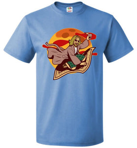 Magic Rug Ride Unisex T-Shirt - Columbia Blue / S - T-Shirt
