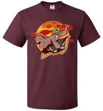 Load image into Gallery viewer, Magic Rug Ride Unisex T-Shirt - Maroon / S - T-Shirt