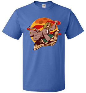 Magic Rug Ride Unisex T-Shirt - Royal / S - T-Shirt