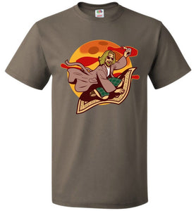 Magic Rug Ride Unisex T-Shirt - Safari / S - T-Shirt