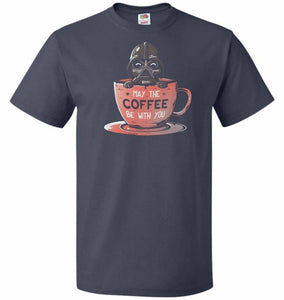 May Be The Coffee You Unisex T-Shirt - J Navy / S - T-Shirt