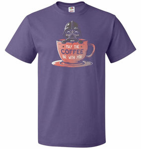 May Be The Coffee You Unisex T-Shirt - Purple / S - T-Shirt