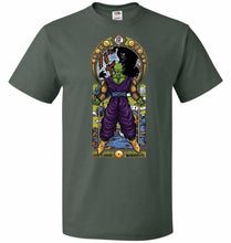 Load image into Gallery viewer, Namekian Warrior Unisex T-Shirt - Forest Green / S - T-Shirt