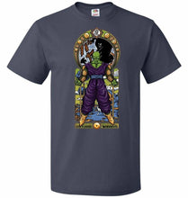 Load image into Gallery viewer, Namekian Warrior Unisex T-Shirt - J Navy / S - T-Shirt