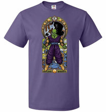 Load image into Gallery viewer, Namekian Warrior Unisex T-Shirt - Purple / S - T-Shirt