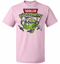 Load image into Gallery viewer, Ninja Kraken Unisex T-Shirt - Classic Pink / S - T-Shirt