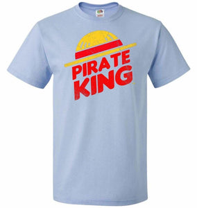 Pirate King Unisex T-Shirt - Light Blue / S - T-Shirt