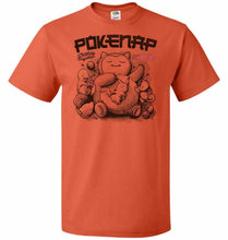 Load image into Gallery viewer, Pokenap Unisex T-Shirt - Burnt Orange / S - T-Shirt