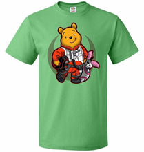 Load image into Gallery viewer, Pooh Dameron Unisex T-Shirt - Kelly / S - T-Shirt