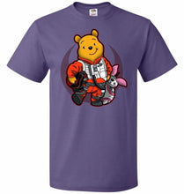 Load image into Gallery viewer, Pooh Dameron Unisex T-Shirt - Purple / S - T-Shirt