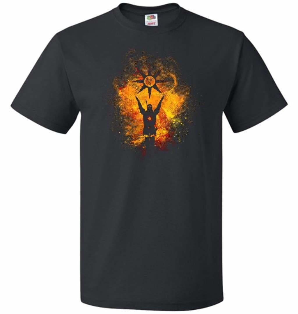 Praise The Sun Art Unisex T-Shirt - Black / S - T-Shirt