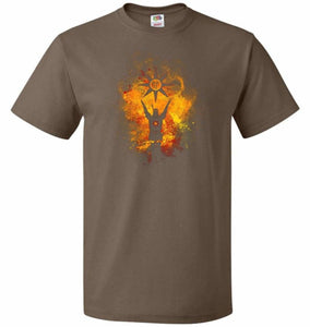 Praise The Sun Art Unisex T-Shirt - Chocolate / S - T-Shirt