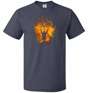 Praise The Sun Art Unisex T-Shirt - J Navy / S - T-Shirt