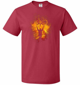 Praise The Sun Art Unisex T-Shirt - True Red / S - T-Shirt