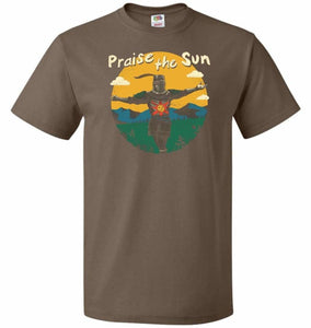 Praise The Sun Unisex T-Shirt - Chocolate / S - T-Shirt