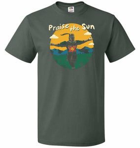 Praise The Sun Unisex T-Shirt - Forest Green / S - T-Shirt