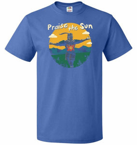 Praise The Sun Unisex T-Shirt - Royal / S - T-Shirt