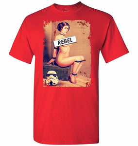 Princess Leia Rebel Unisex T-Shirt - Red / S - T-Shirt