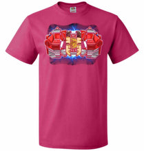 Load image into Gallery viewer, Red Ranger Unisex T-Shirt - Cyber Pink / S - T-Shirt