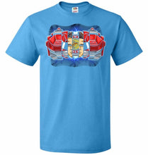 Load image into Gallery viewer, Red Ranger Unisex T-Shirt - Pacific Blue / S - T-Shirt